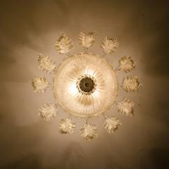 Barovier Toso Barovier Toso Murano Glass Chandelier 1960 - 1039350