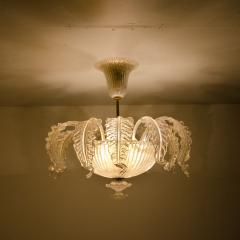 Barovier Toso Barovier Toso Murano Glass Chandelier 1960 - 1039351