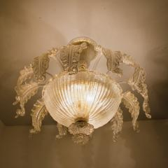 Barovier Toso Barovier Toso Murano Glass Chandelier 1960 - 1039354