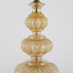 Barovier Toso Barovier Toso Pair Of Beautiful Hand Blown Glass Table Lamps 1950s - 1526710