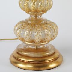 Barovier Toso Barovier Toso Pair Of Beautiful Hand Blown Glass Table Lamps 1950s - 1526712