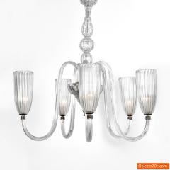 Barovier Toso Chandelier in the Manner of Barovier Toso - 701706