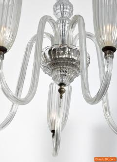Barovier Toso Chandelier in the Manner of Barovier Toso - 701707