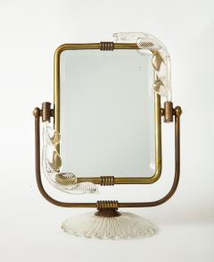 Barovier Toso Frame and mirror 2 in 1 from Murano circa 1940 - 1196602