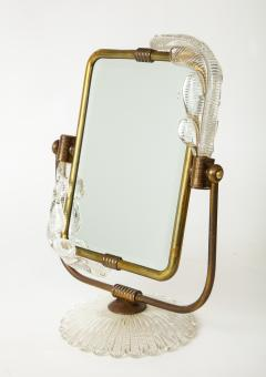 Barovier Toso Frame and mirror 2 in 1 from Murano circa 1940 - 1196603