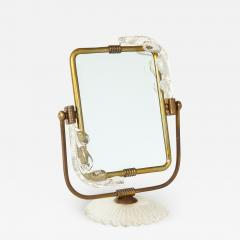 Barovier Toso Frame and mirror 2 in 1 from Murano circa 1940 - 1197029