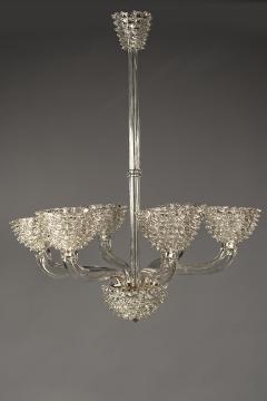 Barovier Toso Glass Chandelier - 1580967