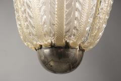 Barovier Toso Glass Lantern by Barovier Toso Italy circa 1940 - 986675