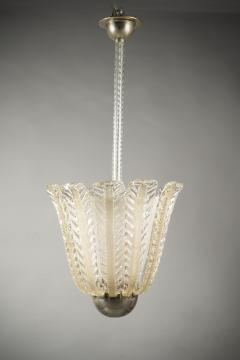 Barovier Toso Glass Lantern by Barovier Toso Italy circa 1940 - 986676