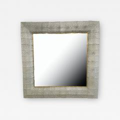 Barovier Toso Italian Modern Handblown Glass and Bronze Illuminated Mirror Barovier and Toso - 2100990