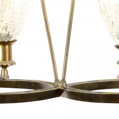 Barovier Toso Murano Deco Pendant Light Attributed to Barovier Toso Italy - 1489278
