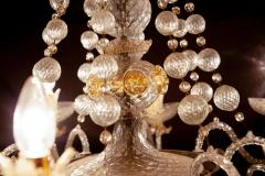 Barovier Toso Overwhelming Murano Glass Chandelier by Barovier Toso 1960 - 1910366