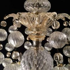 Barovier Toso Overwhelming Murano Glass Chandelier by Barovier Toso 1960 - 1910367