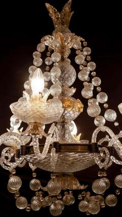Barovier Toso Overwhelming Murano Glass Chandelier by Barovier Toso 1960 - 1910370