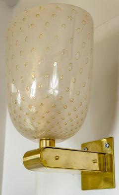 Barovier Toso Pair of Barovier Style Wall Lights Contemporary - 1766877