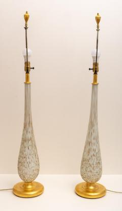 Barovier Toso Pair of Murano Glass Table Lamps - 975973