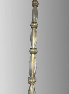 Barovier Toso Rare oval chandelier in Murano glass Italy circa 1940 - 1491330