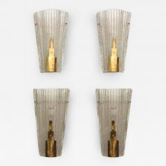Barovier & Toso - Set of Four Large Italian Modern Barovier e Toso ...