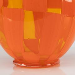 Barovier Toso Vase Clear and opaque orange Barovier e Toso - 1592897