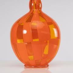 Barovier Toso Vase Clear and opaque orange Barovier e Toso - 1592898