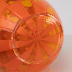 Barovier Toso Vase Clear and opaque orange Barovier e Toso - 1592899