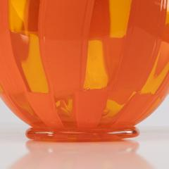 Barovier Toso Vase Clear and opaque orange Barovier e Toso - 1592900
