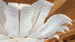 Barovier Toso very Large Flush mount Murano glass Chandelier Mid Century Modern Barovier - 2049584