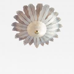 Barovier Toso very Large Flush mount Murano glass Chandelier Mid Century Modern Barovier - 2049948