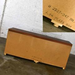Bassett Furniture Bassett modern credenza buffet dresser in medium tone finish - 1938987