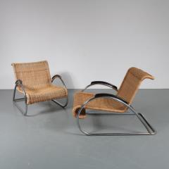 Bauhaus Very Rare Pair of Bauhaus Armchairs - 1141839