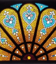 Belcher Mosaic Glass Company Offered by ANTIQUE AMERICAN STAINED GLASS WINDOWS - 1101534