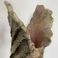Bella Hunt DDC ACANTHE Raku vase - 1439149