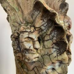 Bella Hunt DDC ACANTHE Raku vase - 1439156