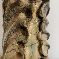 Bella Hunt DDC ACANTHE Raku vase - 1439157
