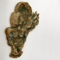 Bella Hunt DDC BOXEUR Bronze wall sculpture - 1434712