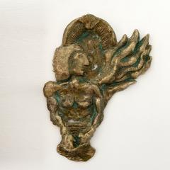 Bella Hunt DDC BOXEUR Bronze wall sculpture - 1434713