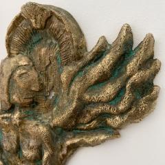 Bella Hunt DDC BOXEUR Bronze wall sculpture - 1434714