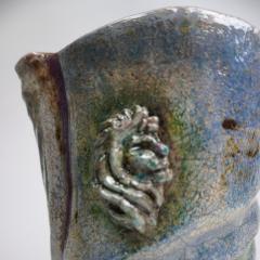 Bella Hunt DDC FONTANA Raku vase - 1747629