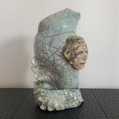 Bella Hunt DDC NAPOLI Raku sculpture - 1434828