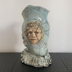 Bella Hunt DDC NAPOLI Raku sculpture - 1434829