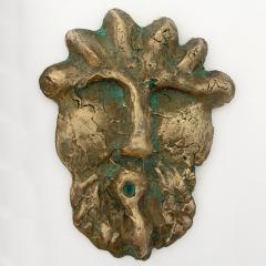 Bella Hunt DDC TETE ROMANE Bronze wall sculpture - 1434782
