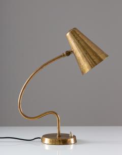 Bergboms Scandinavian Midcentury Desk Lamp in Brass by Bergboms - 1620068