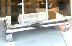 Bernhardt Furniture Company Bernhardt Stainless Steel Coffee Table - 1308202