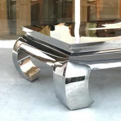 Bernhardt Furniture Company Bernhardt Stainless Steel Coffee Table - 1308205