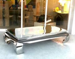 Bernhardt Furniture Company Bernhardt Stainless Steel Coffee Table - 1308207