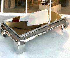 Bernhardt Furniture Company Bernhardt Stainless Steel Coffee Table - 1308209