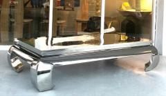 Bernhardt Furniture Company Bernhardt Stainless Steel Coffee Table - 1308212