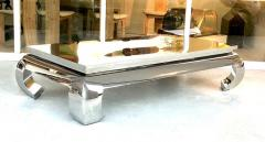 Bernhardt Furniture Company Bernhardt Stainless Steel Coffee Table - 1308214