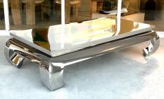 Bernhardt Furniture Company Bernhardt Stainless Steel Coffee Table - 1308216