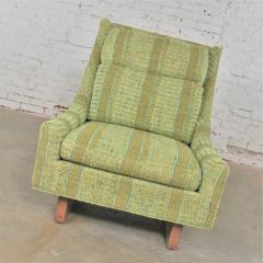 Bernhardt Furniture Company Vintage mid century modern high back lounge chair by flair division of bernhardt - 1668977
